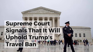 Supreme Court Signals That It Will Uphold Trump's Travel Ban - Video