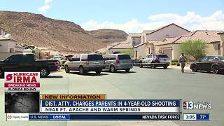Parents charged after child shoots himself - Video