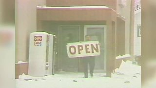 Blizzard of 1978 Indianapolis: Trying to stay in business - Video