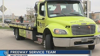 Freeway Service Team helps drivers in need - Video