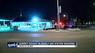 Suspect sought in deadly gas station shooting at 36th & Vliet
