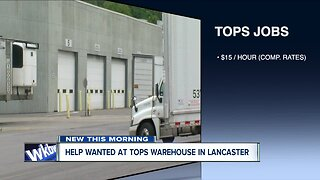 Tops is looking to fill many positions at warehouse in Lancaster