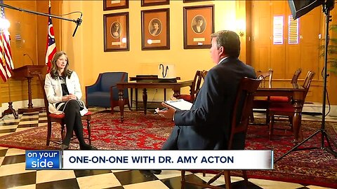 Ohio's Health Director Dr. Amy Acton talks with News 5 about the road ahead in Coronavirus crisis