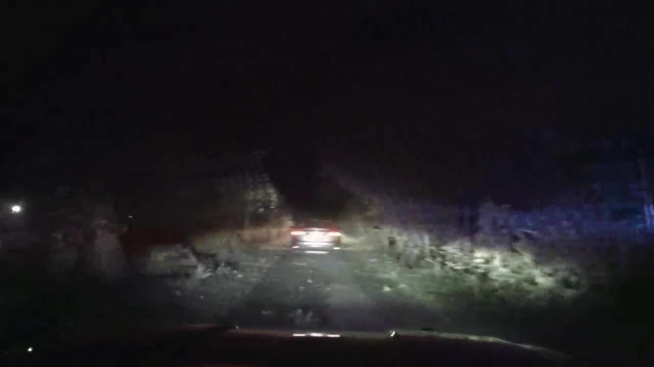 Car drives on Hank Aaron Trail during pursuit with West Allis police