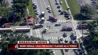 15 reported dead in school shooting in south Florida - Video