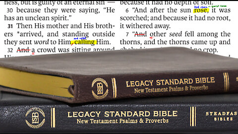 Total Hypocrisy On The Legacy Standard Bible