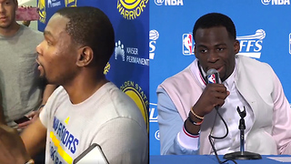 "Kevin Durant IMPERSONATES LaVar Ball, Draymond Green Calls ""Bullsh*t"" on Klay Thompson All-NBA Snub - Video"