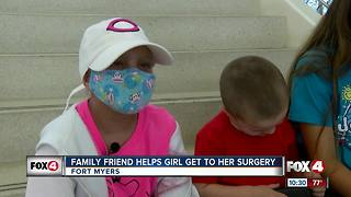 Family friend helps get young girl to out-of-state surgery