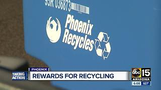 Phoenix recycling program gives restaurant discounts, gift cards, and other freebies - Video