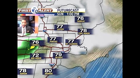 Showers and storms this weekend