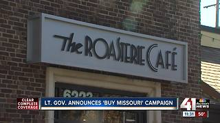 Lt. Governor announces 'Buy Missouri' campaign - Video