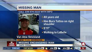 Cape Coral police are looking for missing man - Video