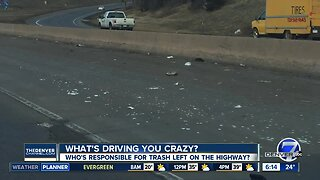 What's Driving you Crazy? Highway Trash