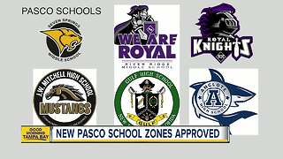 Rezoning for six Pasco County schools approved - Video