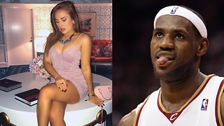 LeBron James CAUGHT Sliding into Instagram Baddie Heidi Hoback's DMs - Video