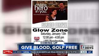 Glowzone hosting blood drive to help replenish blood banks - Video