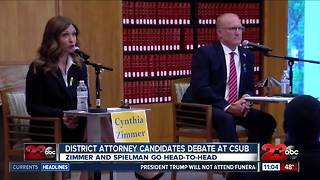 District Attorney candidates debate at CSUB - Video