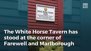 America's Oldest Tavern Was Already Old In 1776 - Video
