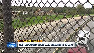 Norton speed camera in construction zone nabs 3,219 drivers in 20 days