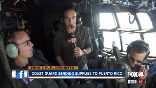 Coast Guard aids in Puerto Rico recovery effort - Video