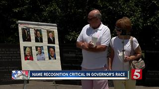 Crowded Governor's Race Leaves Candidates With Work To Do - Video