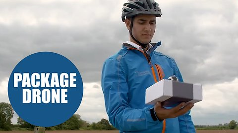 British scientists create first-ever drone that delivers packages straight into your hands