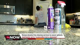 Cleaning company partners with nonprofit to help women battling cancer - Video
