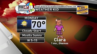 Weather Kid - Clara - 4/8/19