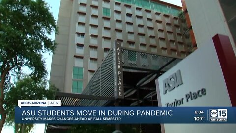 ASU's move-in day moves away from festive feel to safety first