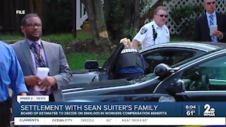 Settlement with Sean Suiter's family