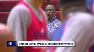 Detroit Mercy, Bacari Alexander welcome higher expectations - Video