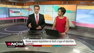 Florida House passes bill to limit type of abortion - Video