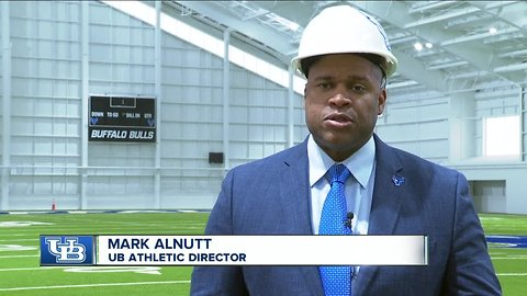 UB fieldhouse nearing completion