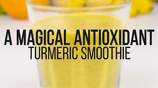 Magical antioxidant turmeric smoothie recipe - Video