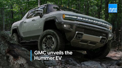 GMC unveils the Hummer EV