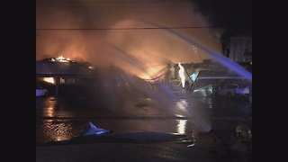 Explosion and fire at Tucson factory - Video