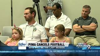 2018 to be the final season of Pima football - Video