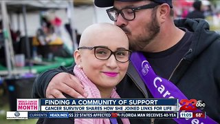 Cancer survivor shares her story