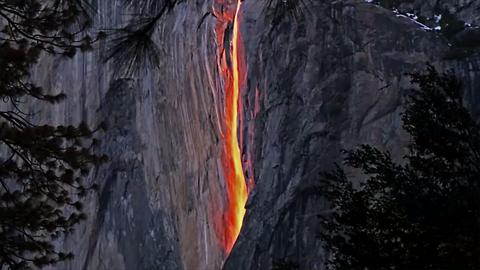 Yosemite's Famous 'Firefall' Has Run Dry Because of the California Drought