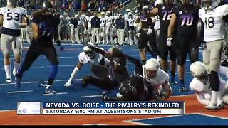 Rivalry week set for Broncos and Nevada - Video