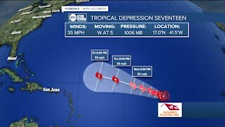 Tracking the Tropics | September 7 morning update
