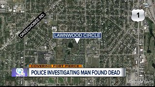 Man's body found