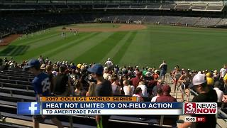 Heat, Action rising at CWS - Video