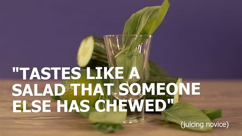 Juice Shots: The good, the basil and the ugly