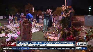 Deadline to apply for money from victims' fund - Video