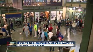 Brewers-Marlins series planned for Miami being moved to Miller Park - Video