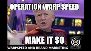 operation warpspeed, crossfire hurricane and brand marketing in government