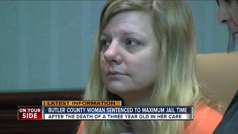 Butler County woman gets maximum jail time