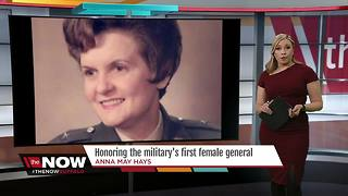 Remembering the military's first female general - Video