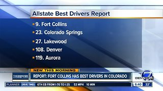 Report: Fort Collins has best drivers in Colorado in rain and snow